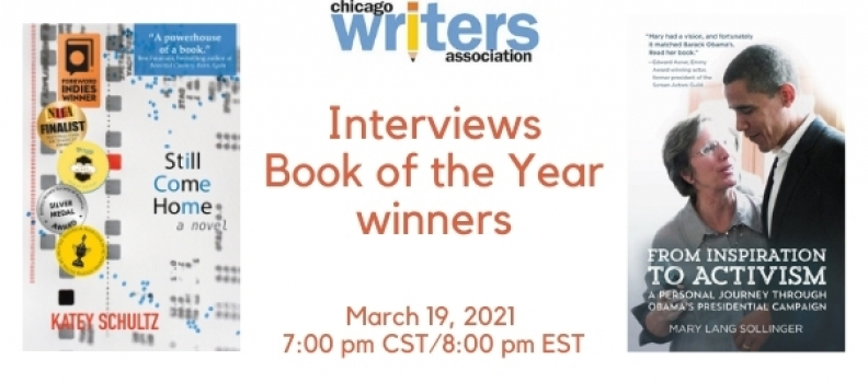 Chicago Writers Association Book of the Year Interview