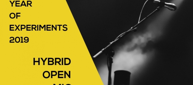 Use your voice with an open mic!