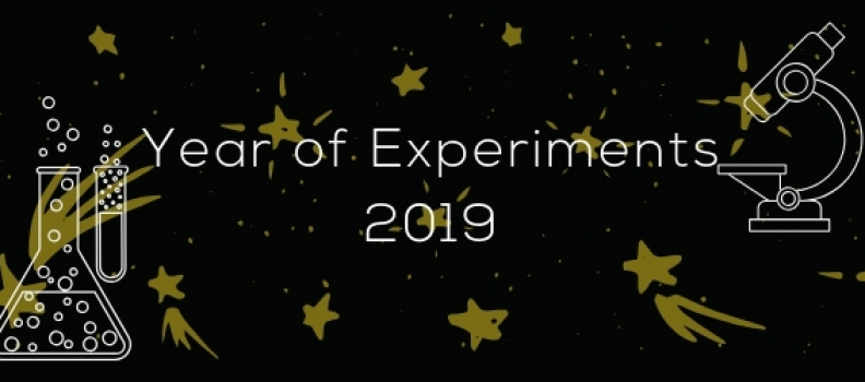 Year of Experiments