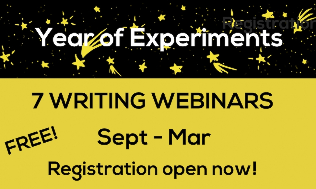 Year of Experiments Webinars