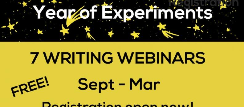 Year of Experiments Webinars